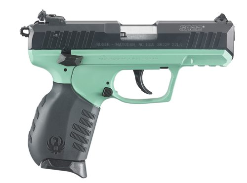 Ruger SR22 22LR TALO Exclusive Turquoise