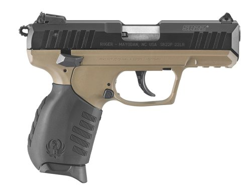 Ruger SR22 FDE 22LR Flat Dark Earth