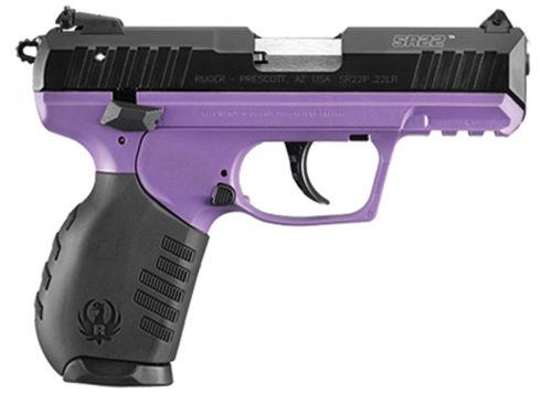 Ruger SR22 22LR TALO Exclusive Purple