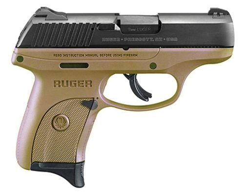 Ruger LC9S FDE 9mm