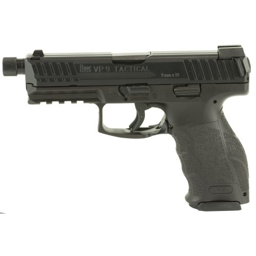 HK VP9 LE 9mm Threaded Barrel Black 1