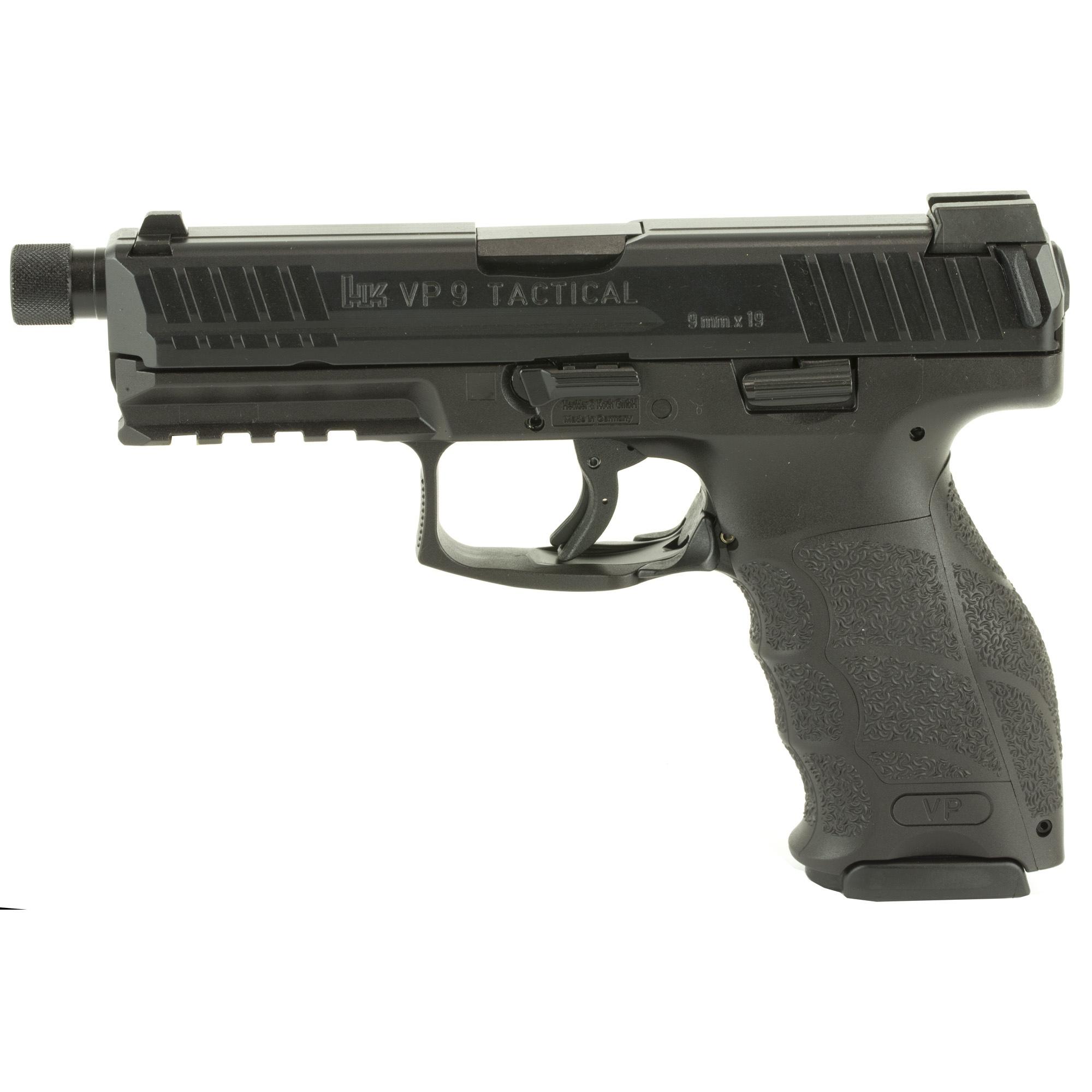 HK VP9 LE 9mm Threaded Barrel Black · 700009TLE-A5 · DK