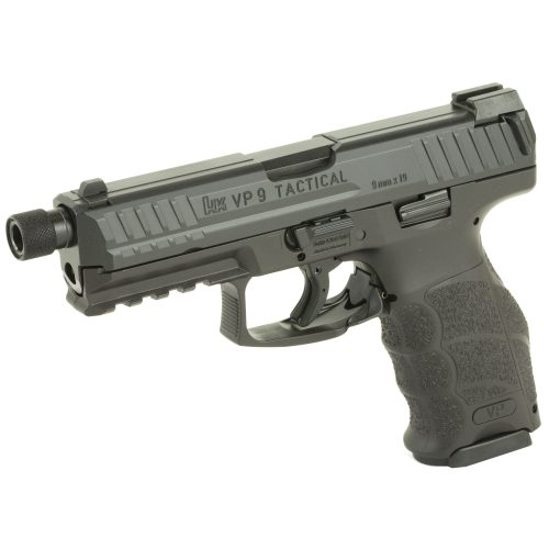 HK VP9 LE 9mm Threaded Barrel Black 3