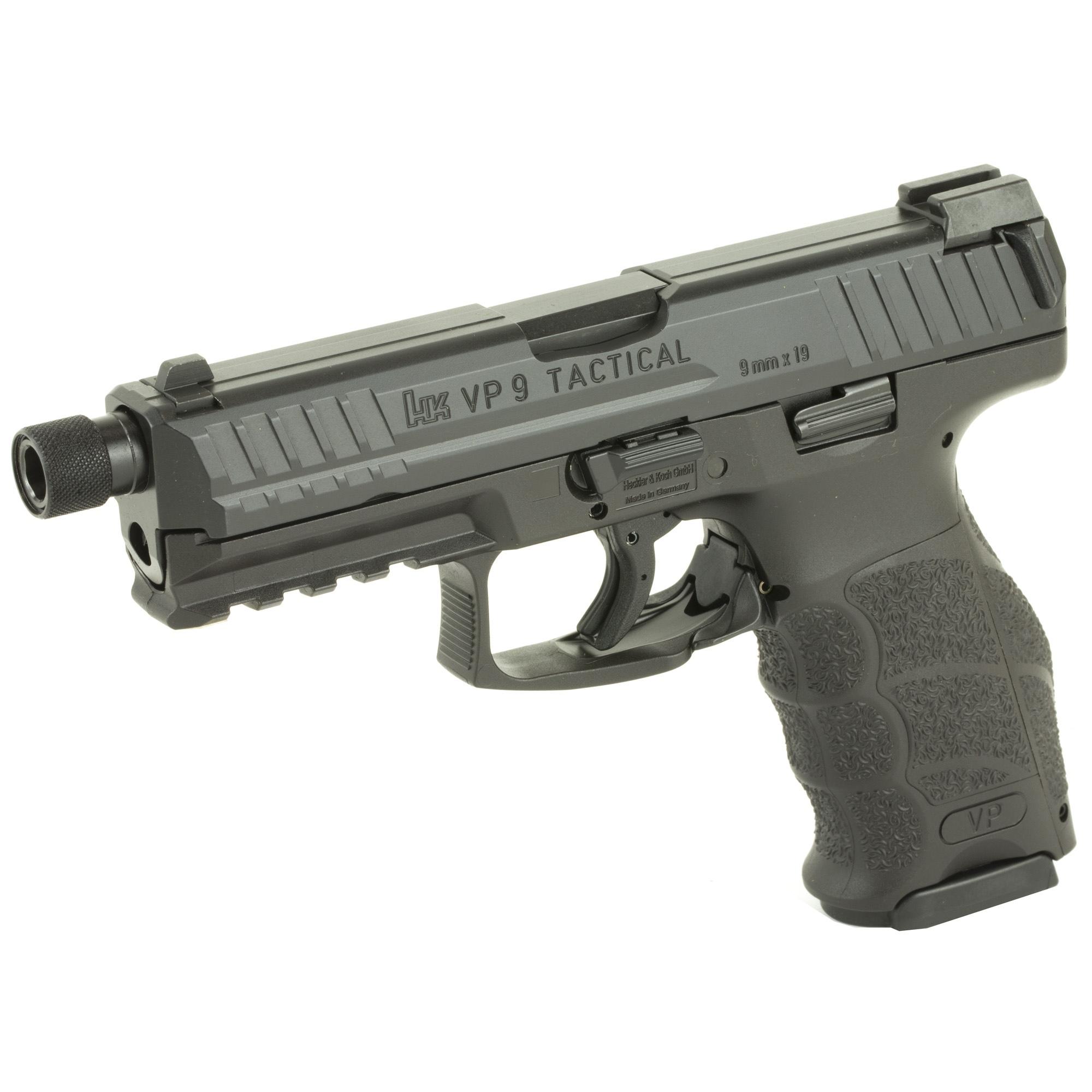HK VP9 LE 9mm Threaded Barrel Black · DK Firearms