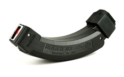 Ruger BX25-2 22lr two coupled 25 round mags for 10/22