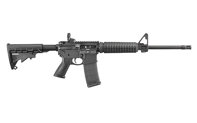 Ruger AR-556 5.56mm, with one 30 round mag