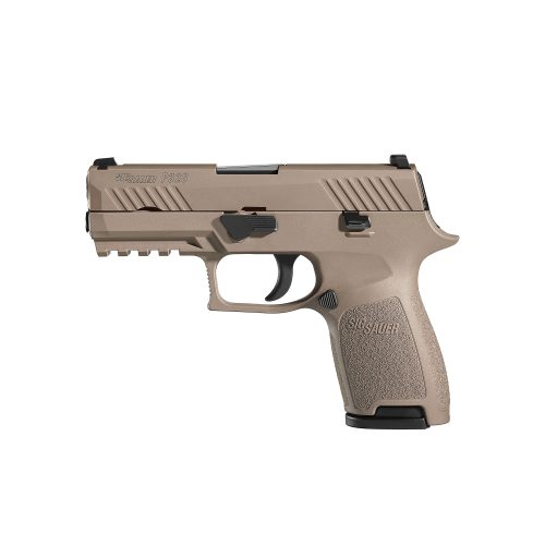 SIG Sauer P320 FDE Compact 9mm Night Sights 1