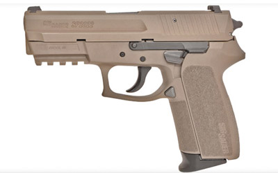 SIG Sauer SP2022 9mm FDE Night Sights
