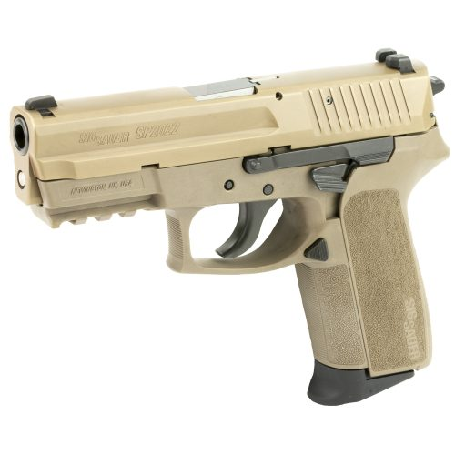 SIG Sauer SP2022 9mm FDE Night Sights 1