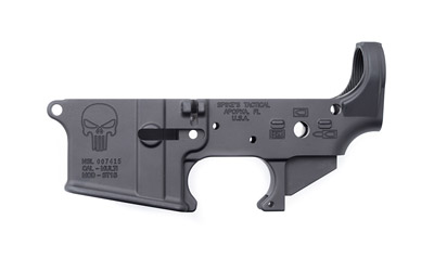 Spike's Tactical AR15 Stripped Lower Receiver Punisher