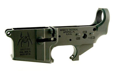 Spike's Tactical AR15 Stripped Lower Receiver Spider