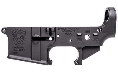 Spike's Tactical AR15 Stripped Lower Receiver Pipe Hitters Union