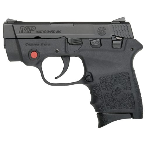 S&W Bodyguard 380 Crimson Trace Laser, Thumb Safety 1