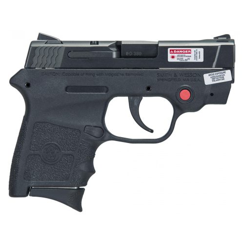 S&W Bodyguard 380 Crimson Trace Laser No Thumb Safety 2