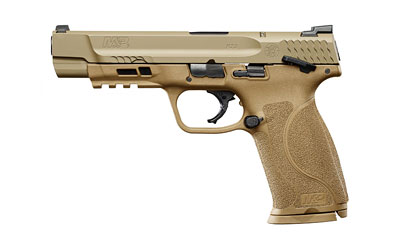 "S&W M&P M2.0 9MM 5"" FDE Thumb Safety"
