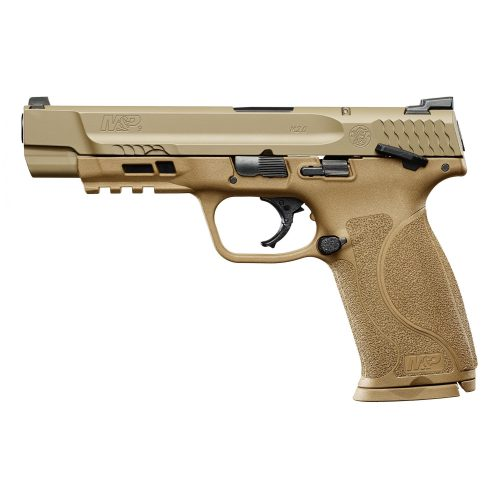 "S&W M&P M2.0 9MM 5"" FDE Thumb Safety 2"