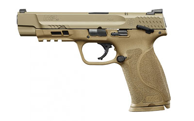 "S&W M&P M2.0 40SW 5"" FDE Thumb Safety"