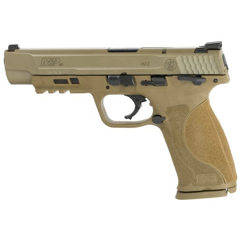 "S&W M&P M2.0 40SW 5"" FDE Thumb Safety 1"