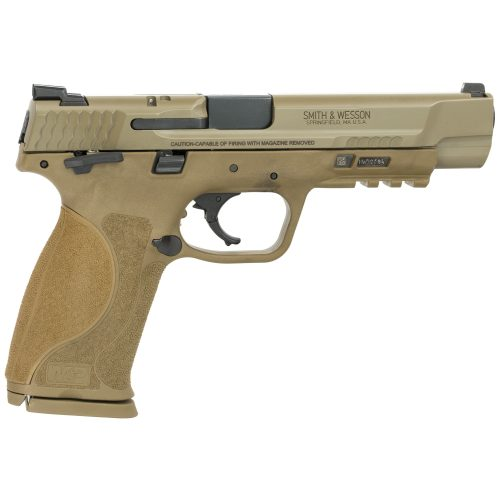 "S&W M&P M2.0 40SW 5"" FDE Thumb Safety 2"