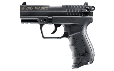 Walther PK380 Black 380acp with one 8 round mag MFR#: 5050325 UPC: 723364210389