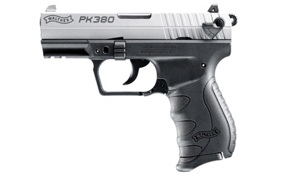 Walther PK380 Nickel .380acp with one 8 round mag MFR#: 5050309 UPC: 723364210389 Manufacturers Website Back to Walther Handguns