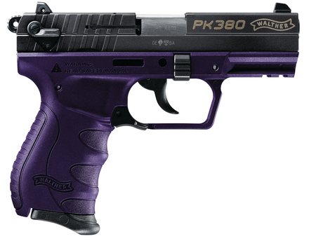 Walther PK380 Purple .380acp with one 8 round mag MFR#: 5050321 UPC: 723364209888