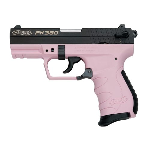 Walther PK380 Pink .380acp with one 8 round mag MFR#: 5050311 UPC: 723364204425 1