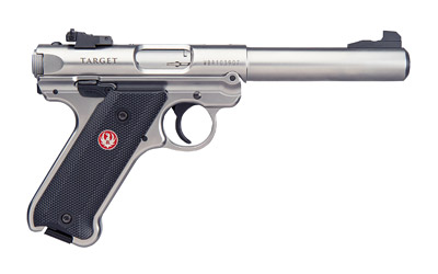 Ruger Mark IV Target Stainless Steel 22LR