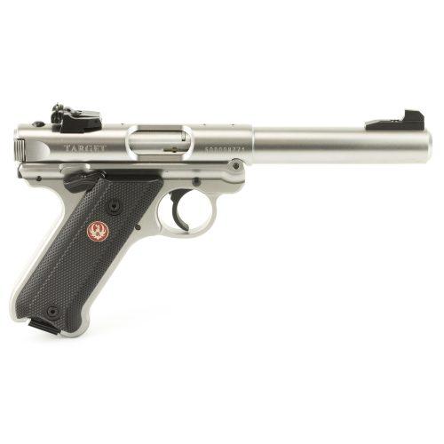 Ruger Mark IV Target Stainless Steel 22LR 1
