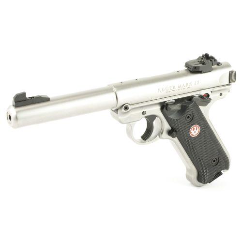 Ruger Mark IV Target Stainless Steel 22LR 2