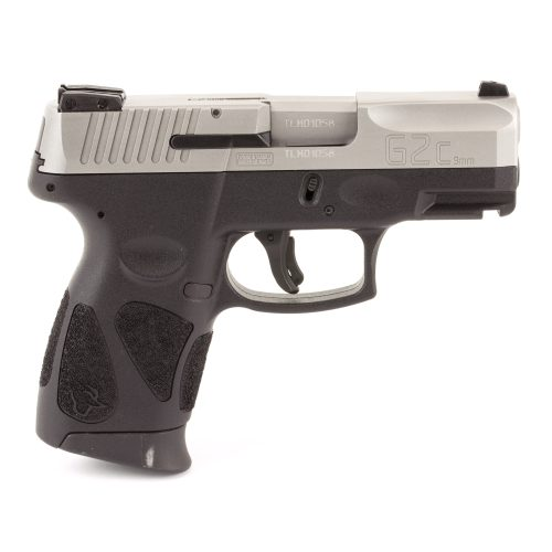 Taurus G2C 9mm SS slide black frame