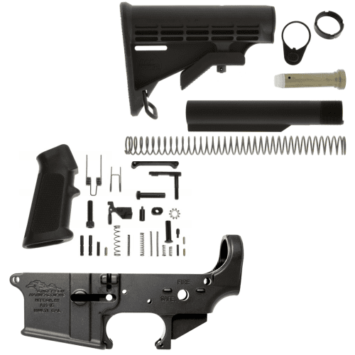 Anderson AR 15 Stripped Lower Receiver Kit w/ Mil-Spec Stock
