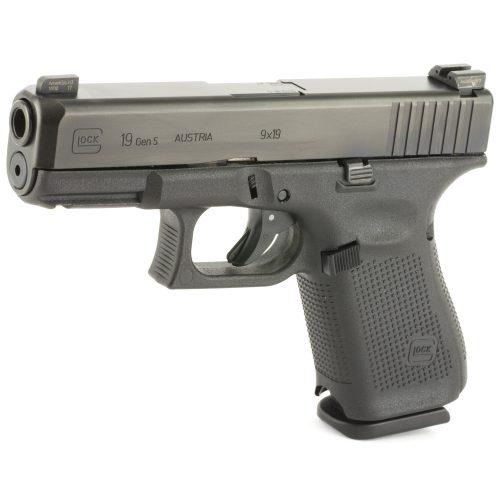 Glock 19 GEN 5 9mm Ameriglo Night Sights 2
