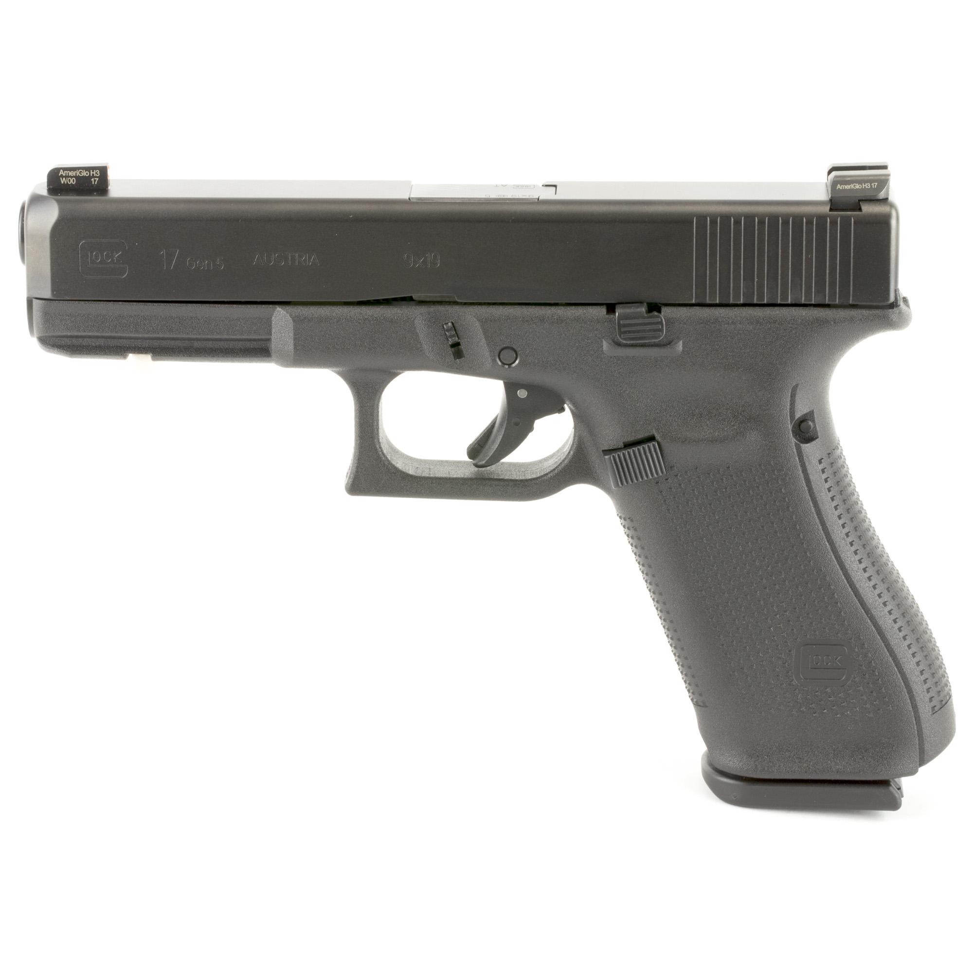 Glock 17 GEN 5 9mm Ameriglo Night Sights · PA1750303AB ...
