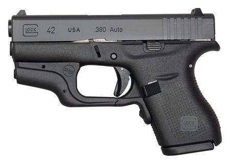 Glock 42 Crimson Trace Laser 380acp