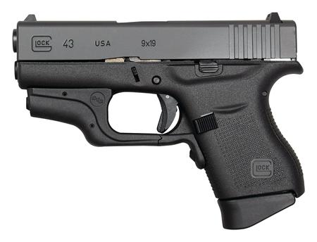 Glock 43 Crimson Trace Laser 9mm Ui4330201cth Dk Firearms