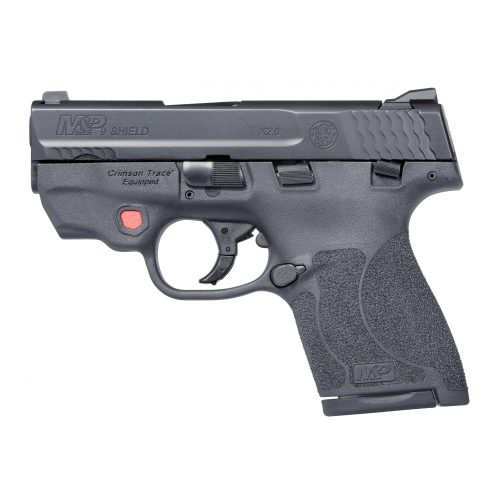 S&W M&P 9 Shield M2.0 9mm, with Crimson Trace Laser & Manual Thumb Safety