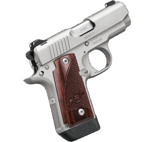 Kimber Micro 9 Stainless 9mm, with Rosewood Grips