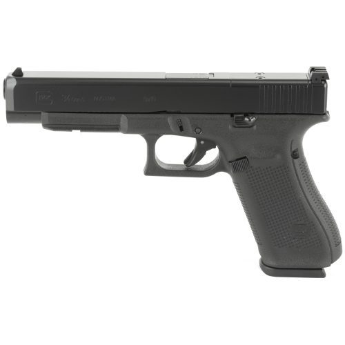 Glock 34 GEN 5 MOS 9mm with three 17 round mags MFR#: PA3430103MOS UPC: 764503027185