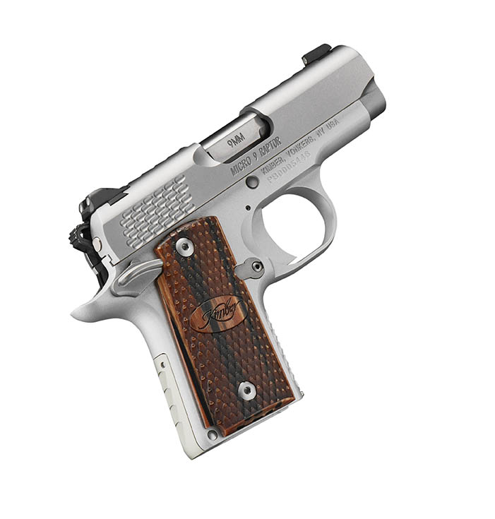 Kimber 9mm Micro 9 Stainless Tfx Pr: Kimber Micro 9 Stainless Raptor 9mm · 3300109 · DK Firearms