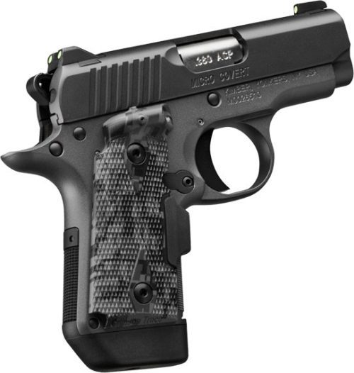 Kimber Micro 9 Covert 9mm Crimson Trace Laser Grip 1