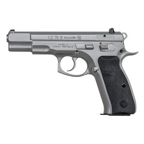 CZ 75B Matte Stainless 9mm 91128