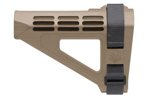 SB Tactical SBM4 Pistol Stabilizing Brace fde