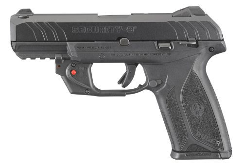 Ruger Security-9 9mm with Viridian E-Series Laser
