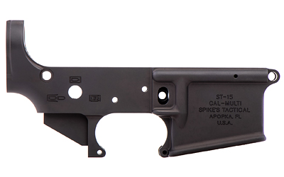 Spike's Tactical No Logo II AR15 Stripped Lower Receiver