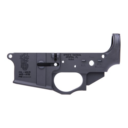 Spike's Tactical Pineapple Grenade AR15 Stripped Lower Receiver 1
