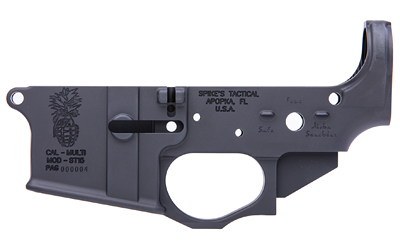 Spike's Tactical Pineapple Grenade AR15 Stripped Lower Receiver