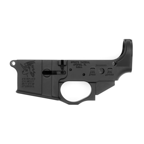 Spike's Tactical Snowflake AR15 Stripped Lower Receiver 1
