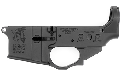 Spike's Tactical Snowflake AR15 Stripped Lower Receiver