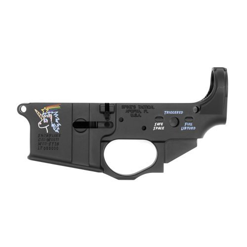 Spike's Tactical Snowflake Color Fill AR15 Stripped Lower Receiver 1